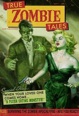 Zombie Tales Pulp