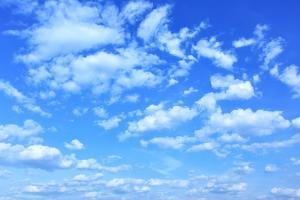 Blue Sky with Clouds, May Be Used as Background by Zoom-zoom