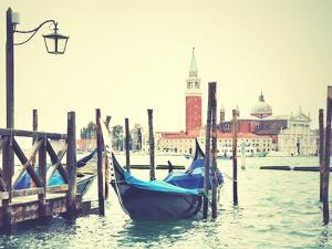 Gondola in Venice, Italy. Instagram Style Filtred Image by Zoom-zoom