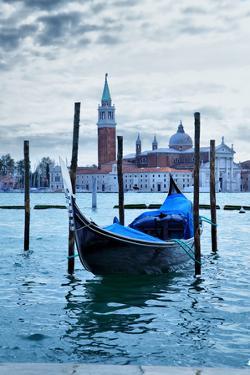 Gondola near Saint Mark Square at Morning - Venice, Italy by Zoom-zoom