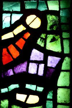 Multicolored Stained Glass Window by Zoom-zoom