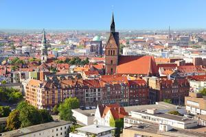 Panoramic View of Hanover City, Germany by Zoom-zoom