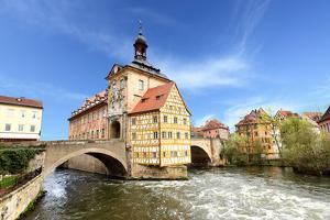 Town Hall on the Bridge, Bamberg, Germany by Zoom-zoom