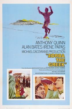 Zorba the Greek (aka Alexis Zorbas), Anthony Quinn, 1964