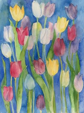 Tulips Watercolor by ZPR Int'L