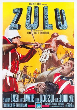 ZULU, Italian poster art, 1964.