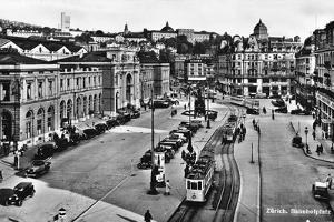 Zurich, Bahnhofplatz