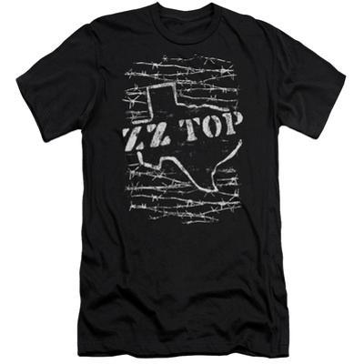 ZZ Top- Distressed Barbed Texas (Premium)