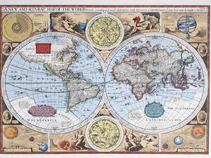 World Maps Artwork And Prints At Artcom - 17th century world map
