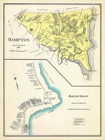 Maps of New Hampshire posters Posters and Prints at Artcom