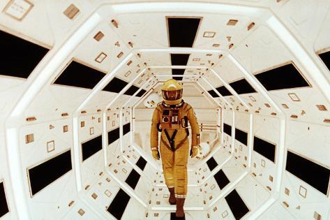 2001: A Space Odyssey Directed by Stanley Kubrick Avec Gary Lockwood Photographie