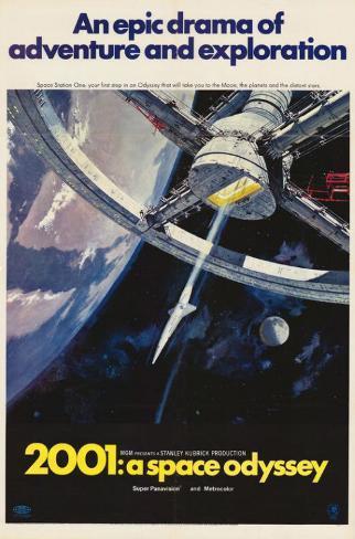2001: A Space Odyssey Affiche originale