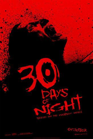 30 jours de nuit Affiche double face