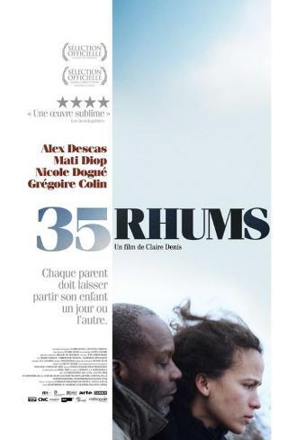 35 Shots of Rum - French Style Poster