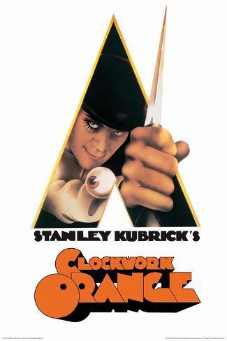 A Clockwork Orange- A Stanley Kubrick Movie Poster