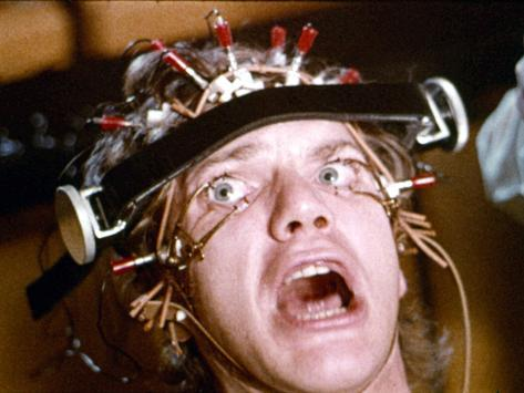 A Clockwork Orange, Malcolm McDowell, 1971 Photographie