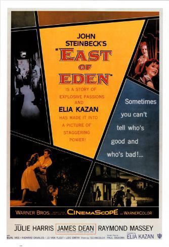 A l'est d'Eden Poster