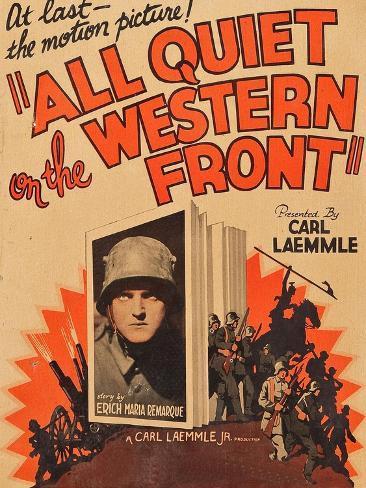 A l'Ouest rien de nouveau|All Quiet on the Western Front Reproduction giclée Premium