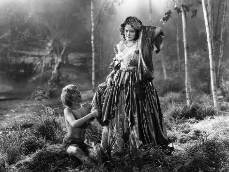 A Midsummer Night's Dream, Mickey Rooney, Olivia De Havilland, 1935 Photographie