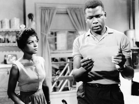 A Raisin In The Sun, Ruby Dee, Sidney Poitier, 1961 Photographie