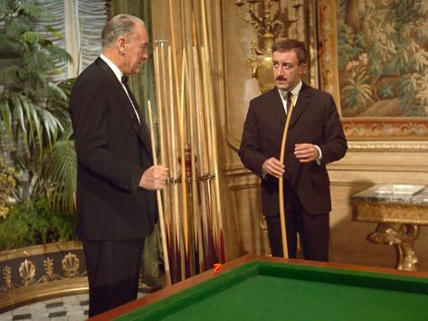 A Shot In The Dark, George Sanders, Peter Sellers, 1964 Photographie