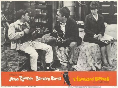A Thousand Clowns, 1966 Reproduction d'art