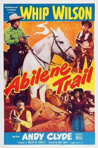 Abilene Trail Reproduction d'art