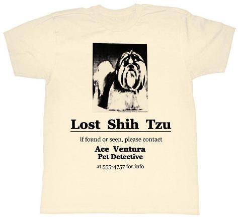Ace Ventura - Shih Tzu T-shirt