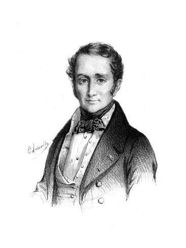Achille Duc de Broglie Reproduction procédé giclée