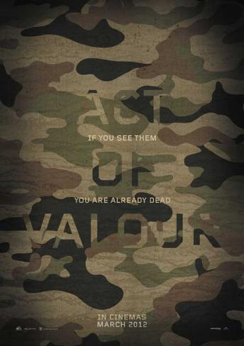 Act of Valor Affiche originale