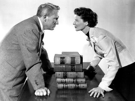 Adam's Rib, Spencer Tracy, Katharine Hepburn, 1949 Photographie