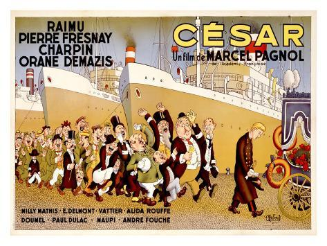 Cesar Reproduction procédé giclée