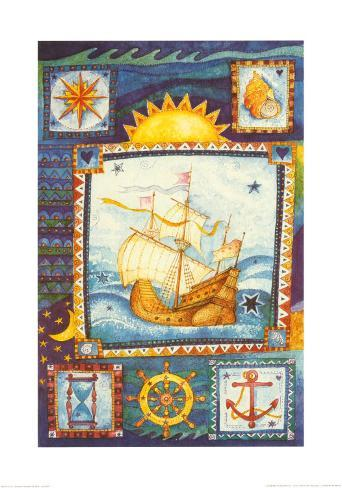 Nautica 1 Reproduction d'art