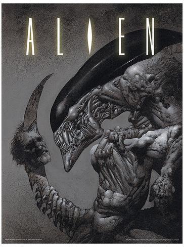 Alien - Head on Tail Affiche originale
