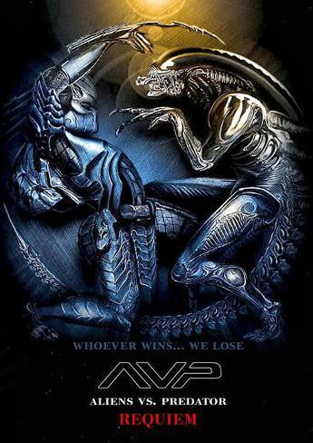 Aliens vs. Predator: Requiem Affiche originale