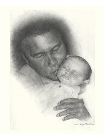 Mohammed Ali Reproduction giclée Premium