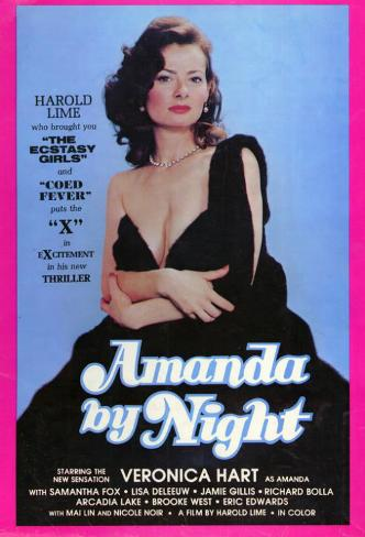 Amanda By Night Affiche originale