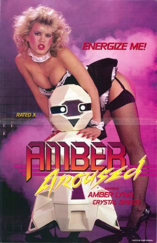 Amber Aroused Affiche originale