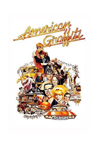 American Graffiti, 1973 Reproduction procédé giclée