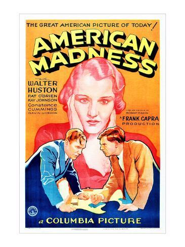 American Madness, 1932 Photographie