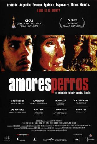 Amours chiennes Poster