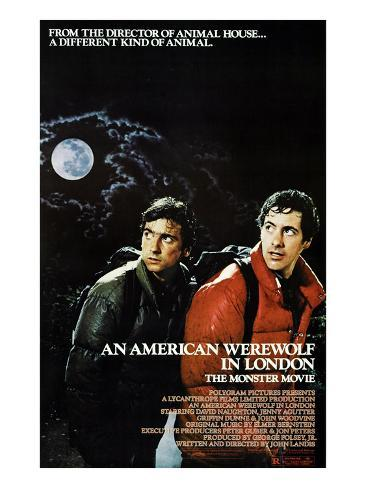 An American Werewolf In London, Griffin Dunne, David Naughton, 1981 Photographie