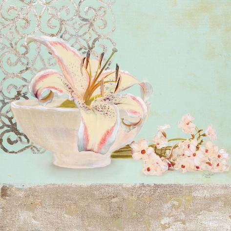 Elegant Lily Reproduction giclée Premium