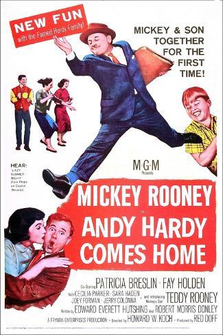 Andy Hardy Comes Home Reproduction d'art
