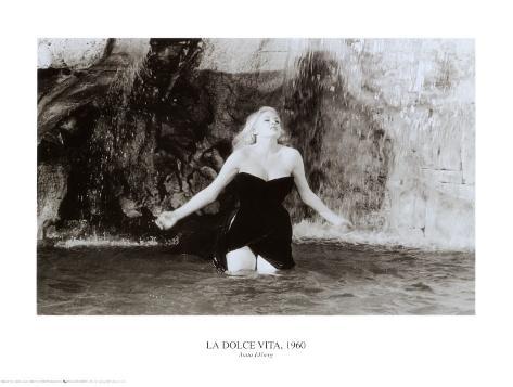 Anita Ekberg Reproduction d'art