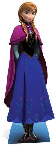 Anna la reine des neiges silhouettes d coup es en carton - Anna la reine des neige ...