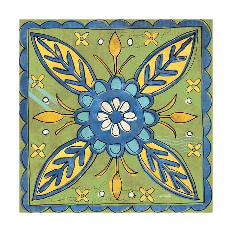 Tuscan Sun Tile III Color Reproduction giclée Premium
