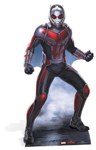 Antman - Marvel Civil War Silhouettes découpées en carton