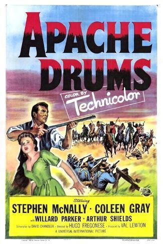 Apache Drums Reproduction d'art