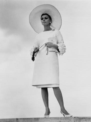 Arabesque, Sophia Loren, 1966 Photographie